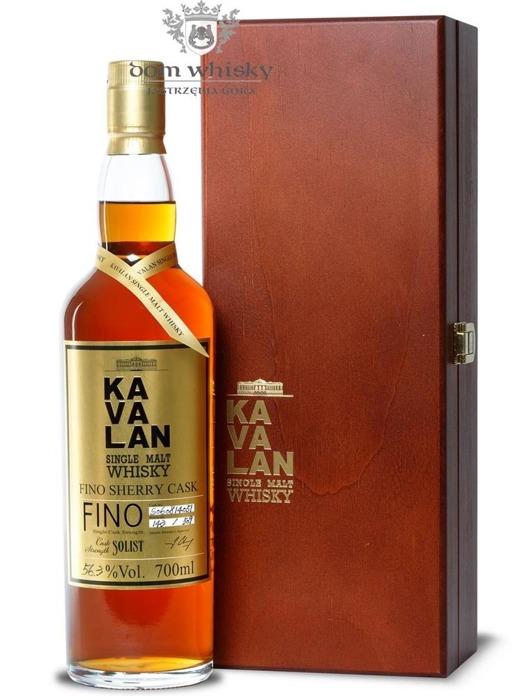 Kavalan Solist Single Malt Fino Sherry / 56,3% / 0,7l