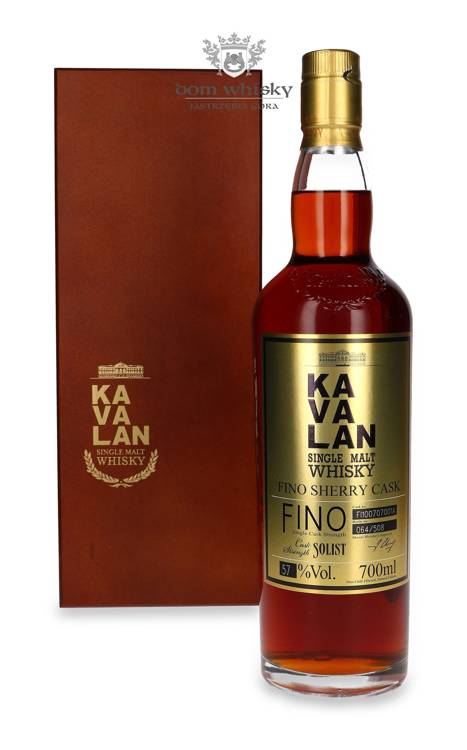 Kavalan Solist Single Malt Fino Sherry / 57% / 0,7l