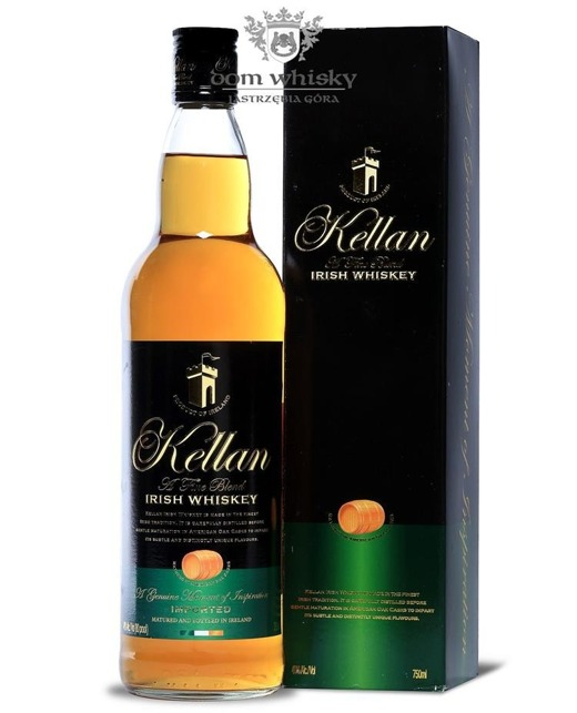 Kellan Irish Whiskey / 40% / 0,75l