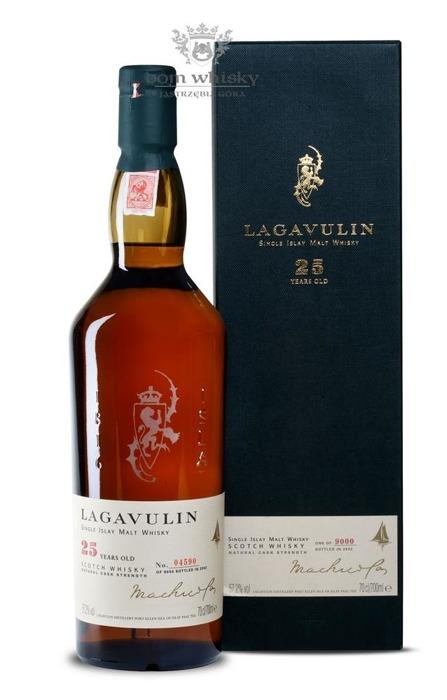 Lagavulin 25-letni (D.1977, B.2002) /57,2%/0,7l