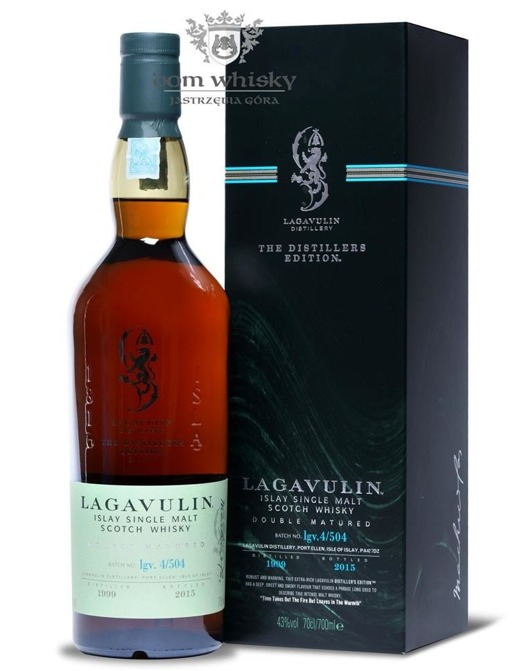 Lagavulin Double Matured D.1999 B.2015 / 43 % / 0,7l