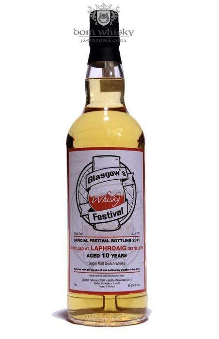 Laphroaig 10-letni, Glasgow's Whisky Festival/ 58,2% /0,7l
