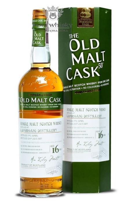 Laphroaig 16-letni (D.1992, B.2009) Old Malt Cask/ 50% /0,7l