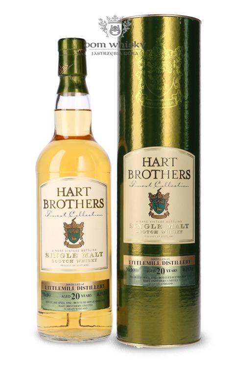 Littlemill 20-letni (D.1984, B.2004) Hart Brothers / 46% / 0,7l