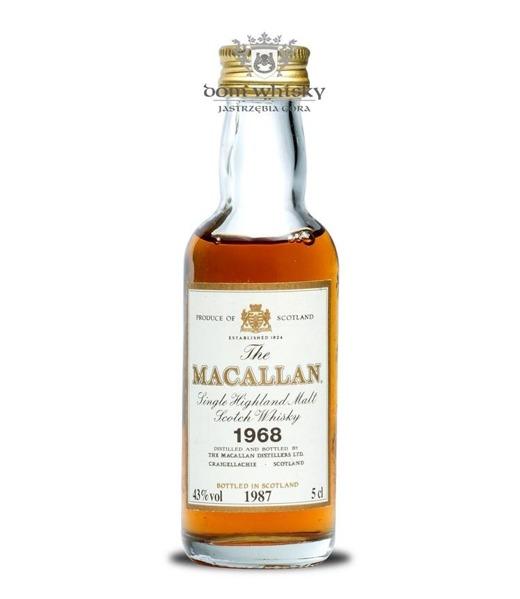 Macallan 18 letni D.1968 B.1987 / 43% / 0,05l