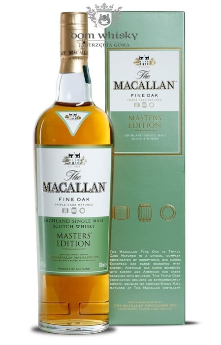 Macallan Fine Oak Masters' Edition (Triple Cask Matured)/40%/0,7