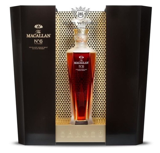 Macallan Nº 6 In Lalique (1824 Master Series) /43%/0,7l