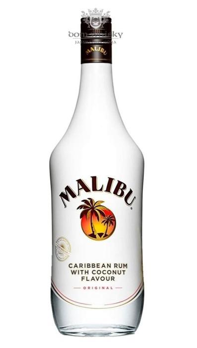 Malibu Caribbean Rum with Coconut / 21% / 1,0l