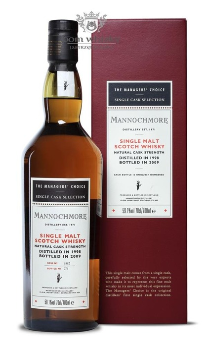 Mannochmore 1998 (Bottled 2009) Manager's Choice/ 59,1%/ 0,7l
