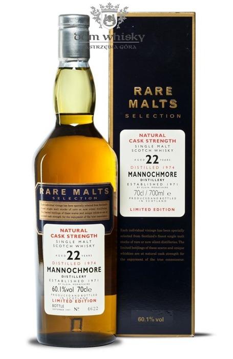 Mannochmore 22-letni (D.1974, B.1997) Rare Malts/ 60,1%/ 0,7l