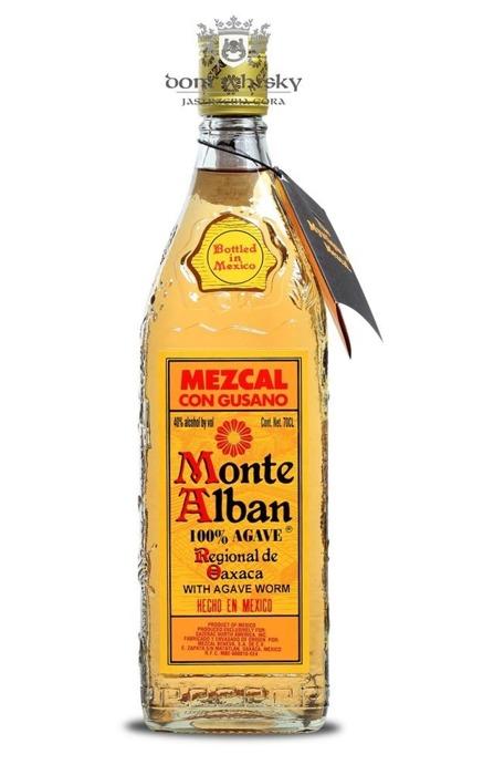 Mezcal Monte Alban Con Gusano / 40% / 0,7l