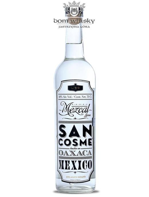 Mezcal San Cosme Oaxaca Mexico Blanco 100% Agave / 40% / 0,7l