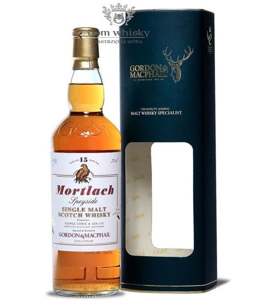 Mortlach 15-letni, Gordon & MacPhail / 43% / 0,7l