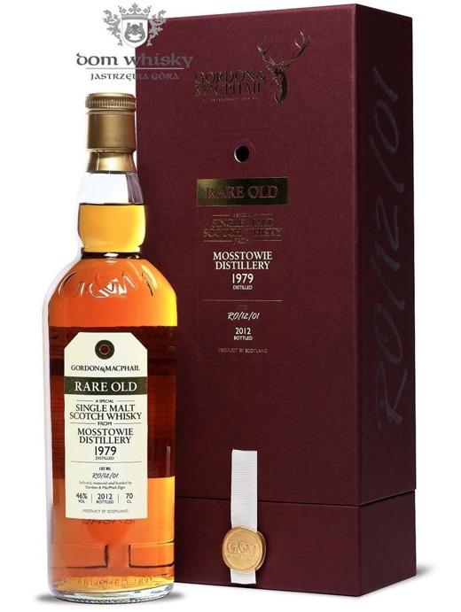 Mosstowie 1979 (Bottled 2012) Rare Old, Gordon & MacPhail / 46%/ 0,7l