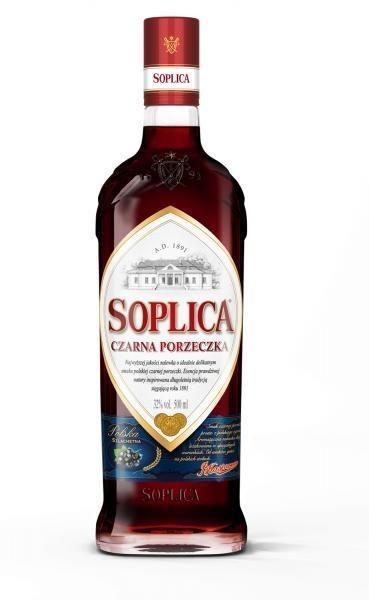 Nalewka Soplica Czarna Porzeczka / 32% / 0,5l