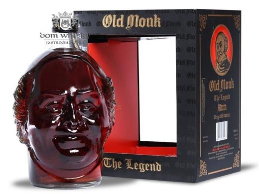 Old Monk Rum The Legend / 42,8% / 1,0l