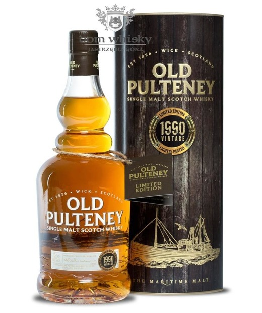 Old Pulteney 23-letni, 1990 Vintage, Lightly Peated / 46%/ 0,7l