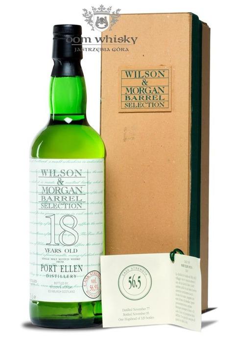 Port Ellen 18 letni D.1977 B.1995 Wilson & Morgan / 56,5% / 0,7l