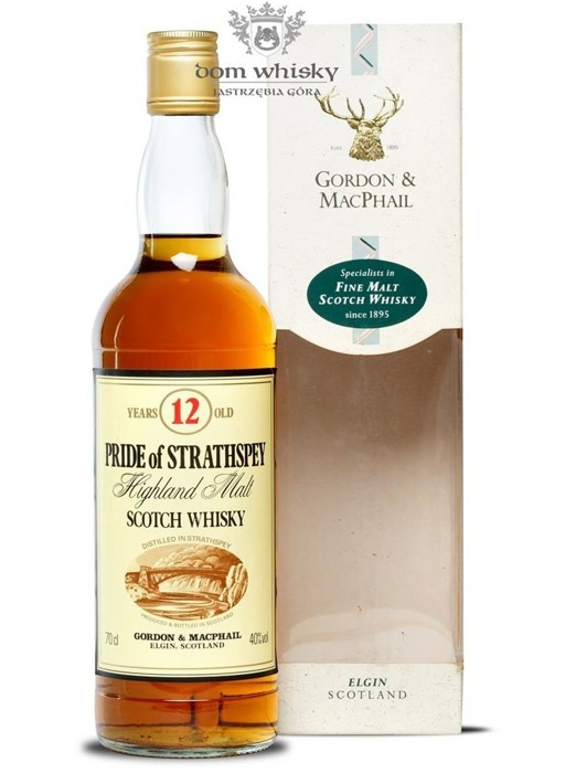 Pride of Strathspey 12 letni / 40% / 0,7l