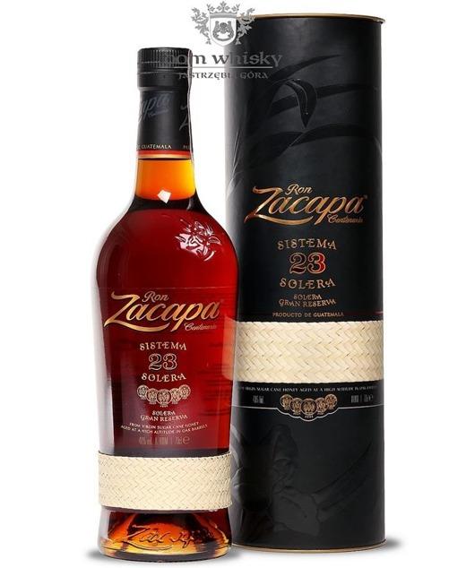 Ron Zacapa Centenario Rum Sistema Solera 23-letni /Tuba/40%/0,7l