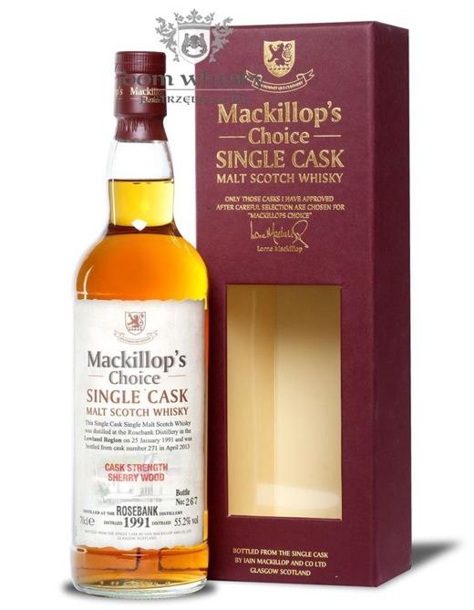 Rosebank 1991 (B.2013) Mackillop's Choice / 55,2% / 0,7