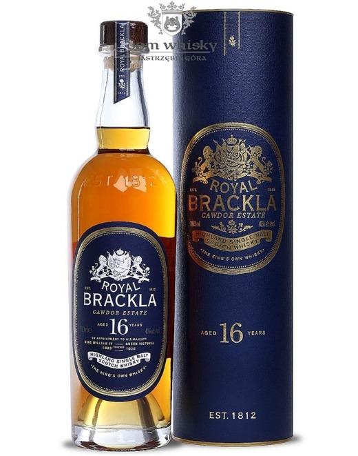 Royal Brackla 16-letnia (Bottled 2015) /40%/0,7l