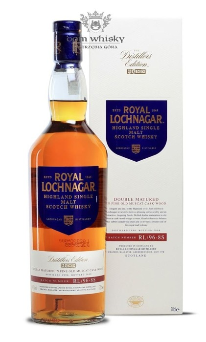 Royal Lochnagar 12 letni D.1996 B.2008 Muscat Cask / 40% / 0,7l