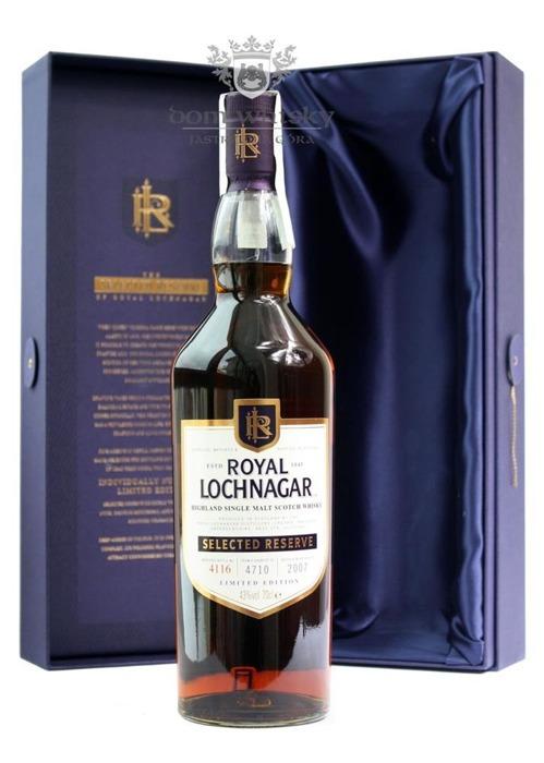 Royal Lochnagar Selected Reserve Limited Edition B.2007/43%/0,7l