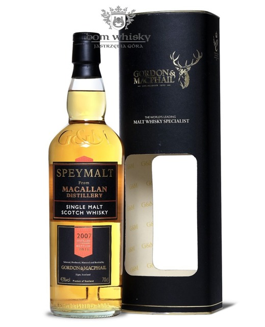 Speymalt from Macallan Distillery (D.2007, B.2016) G&M /43%/0,7l