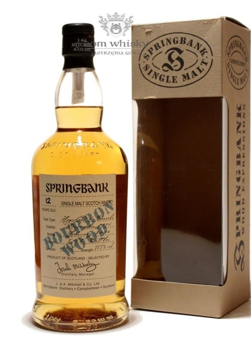 Springbank 12 letni Bourbon Wood Cask Strength / 58,5% / 0,7l