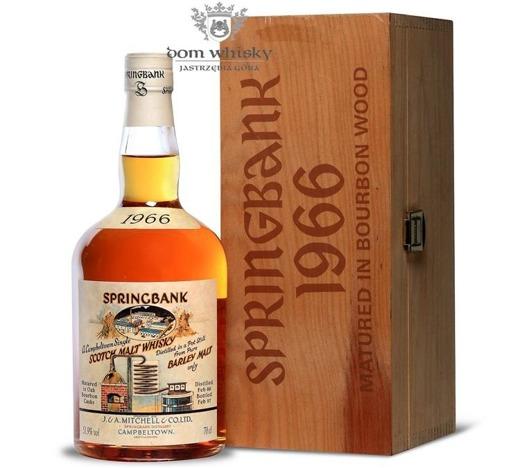Springbank 1966 (Botted 1997) Bourbon Cask / 51,9% / 0,7l