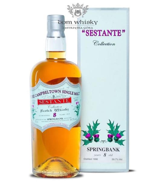 Springbank 8-letni D.1998 B.2006 Sestante / 59,7% / 0,7l