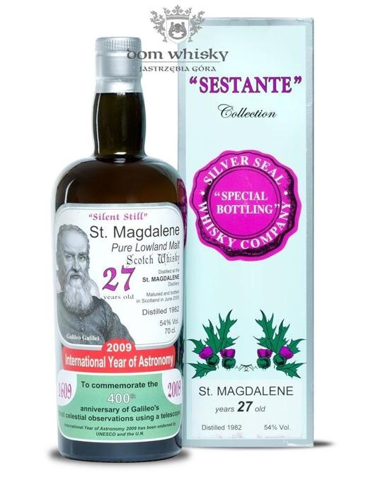 St Magdalene 27-letni 1982 B.2009 Silver Seal / 54% / 0,7l