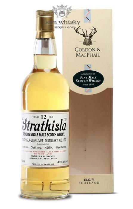 Strathisla 12 letni Gordon & Macphail / 43% / 0,75l