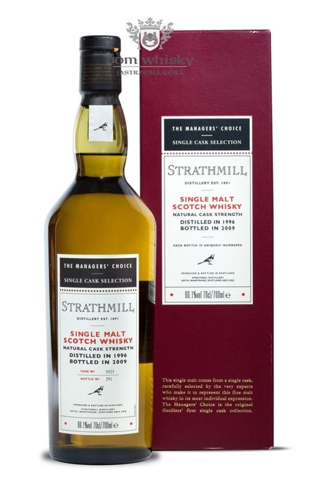 Strathmill D.1996 B.2009 The Manager's Choice / 60,1% / 0,7l