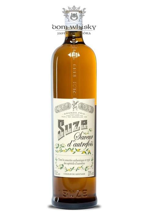 Suze Saveur d'autrefois Liqueur / 20% / 1,0l