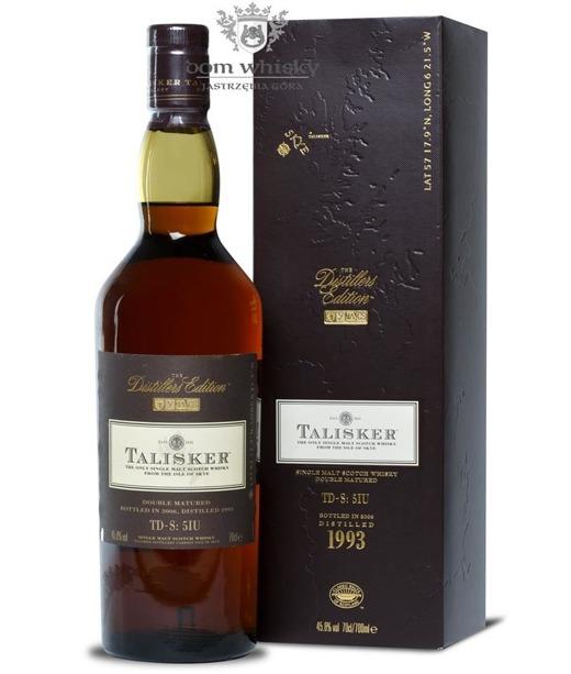 Talisker 1993 Distillers Edition (Skye) / 45,8% / 0,7l