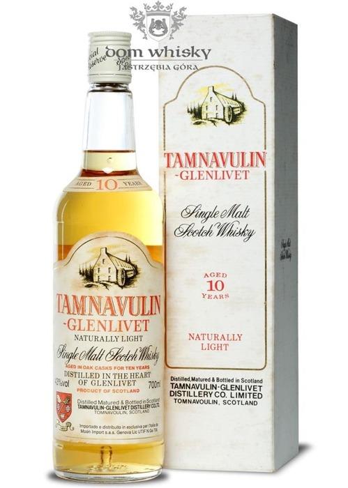 Tamnavulin Glenlivet 10-letni / 43% / 0,7l