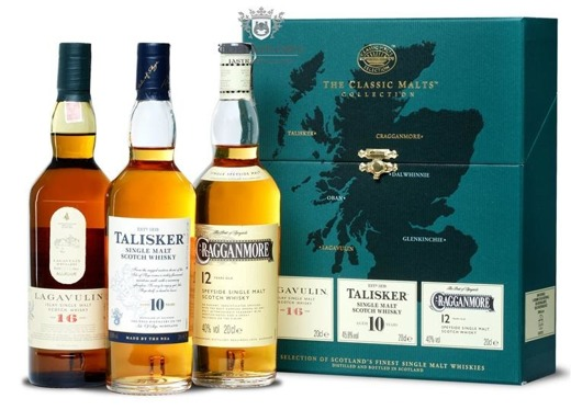 The Classic Malts Collection Strong / 3 x 0,2l