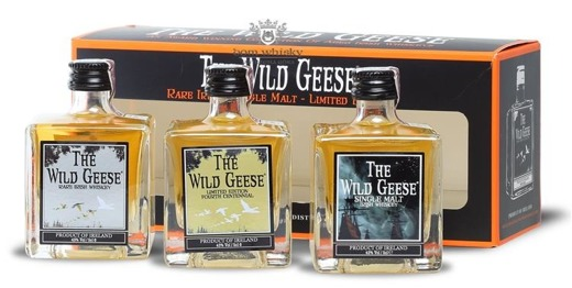 The Wild Geese Collection Set / 43% / 3 x 0,05l