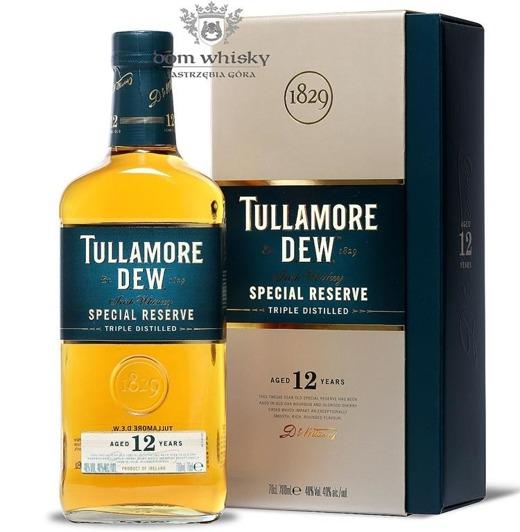 Tullamore Dew 12-letni / Karton / 40% / 0,7l