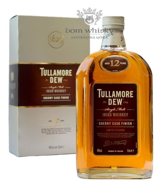 Tullamore Dew 12-letni Sherry Cask / 46% / 1,0l