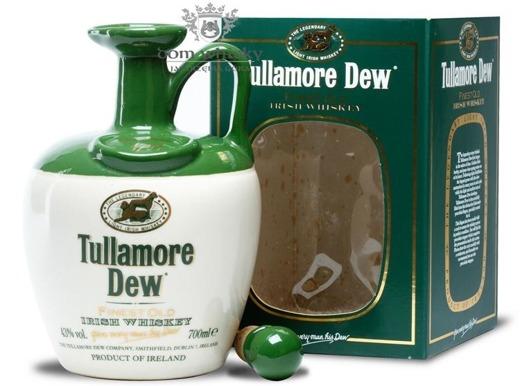 Tullamore Dew Biała Kamionka Porcelana / 43% / 0,7l