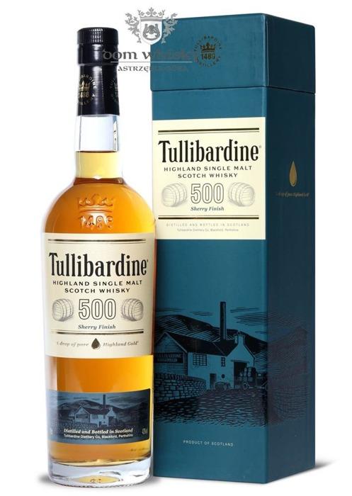 Tullibardine 500 Sherry / 43% / 0,7l