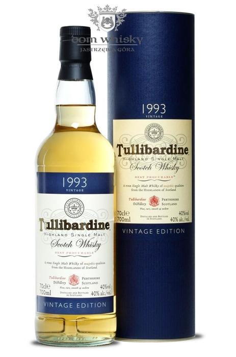 Tullibardine D.1993 B.2012 / 40% / 0,7l