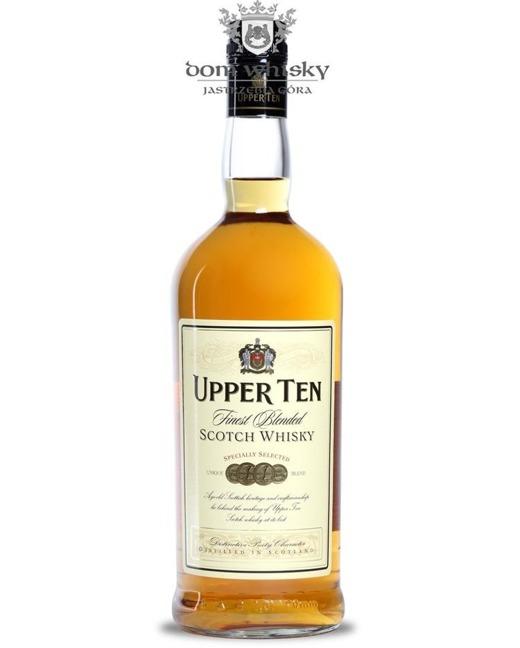 Upper Ten Finest Blended Scotch Whisky / 40% / 1,0l