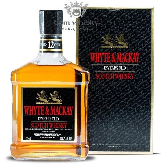 Whyte & Mackay 12 letni Review / 40% / 0,75l