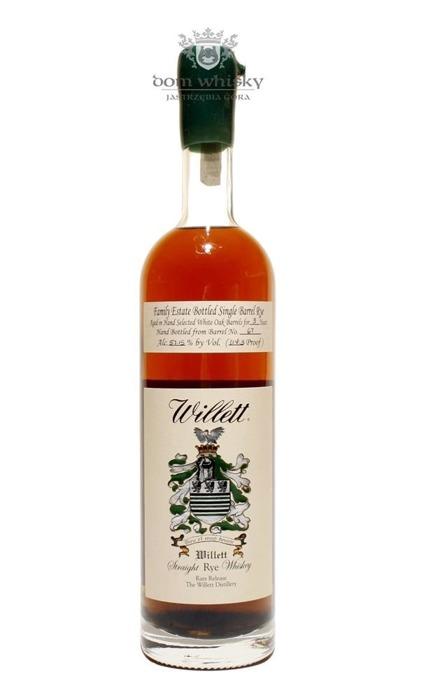 Willett Straight Rye Kentucky Whiskey 3 letni / 57,15% / 0,75l