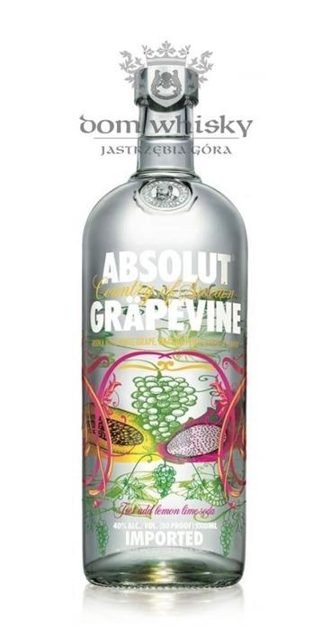 Wódka Absolut Grapevine  / 40% / 1,0l