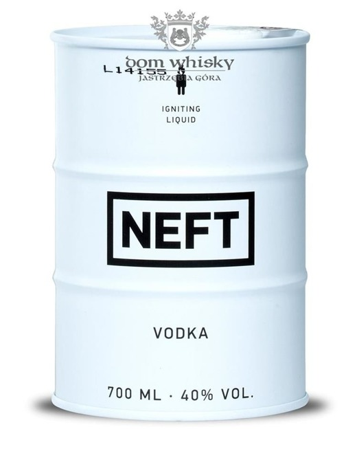 Wódka NEFT White Barrel / 40% / 0,7l